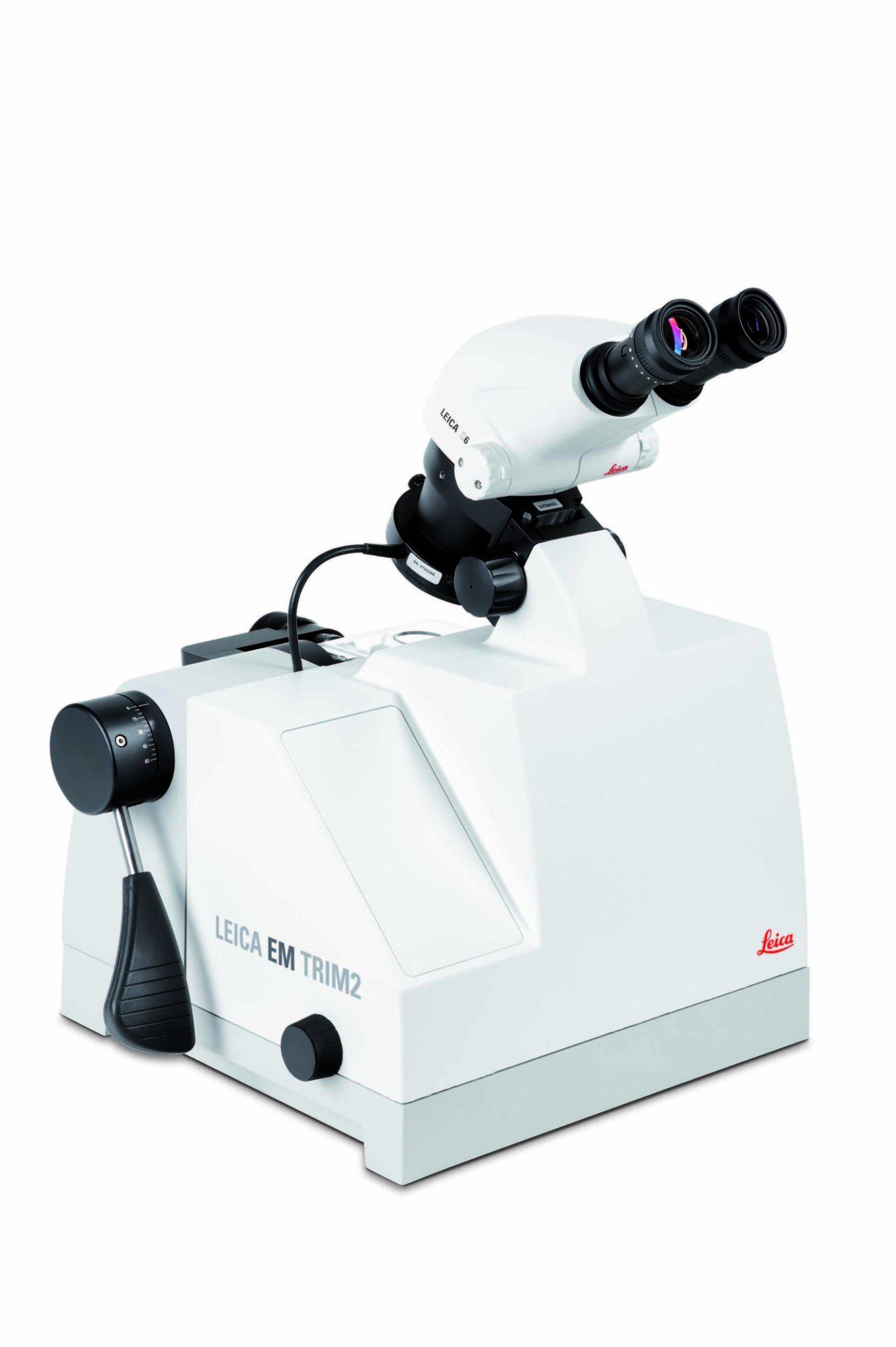 Прибор для тримминга образцов для TEM, SEM и LM — Leica EM TRIM2